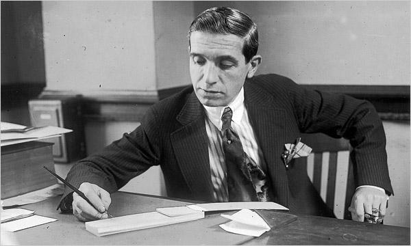 Charles Ponzi, 1920 de oplichter uit de jaren 20 vorige eeuw